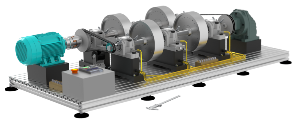 RotMach.com: Services - Vibrostand Rotor Kit